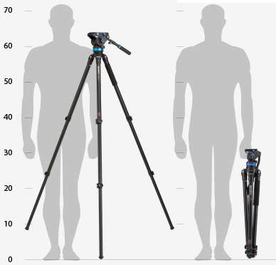 benro-aluminium-video-tripod-set