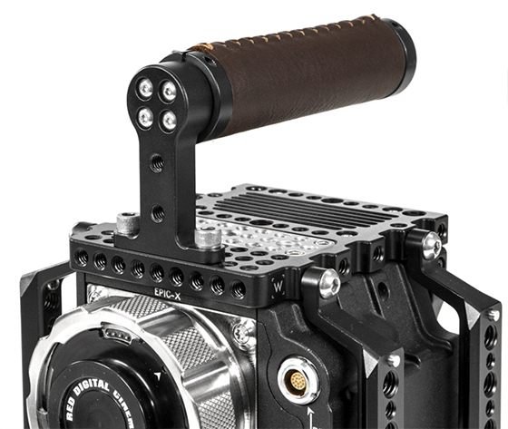 wooden camera top handle