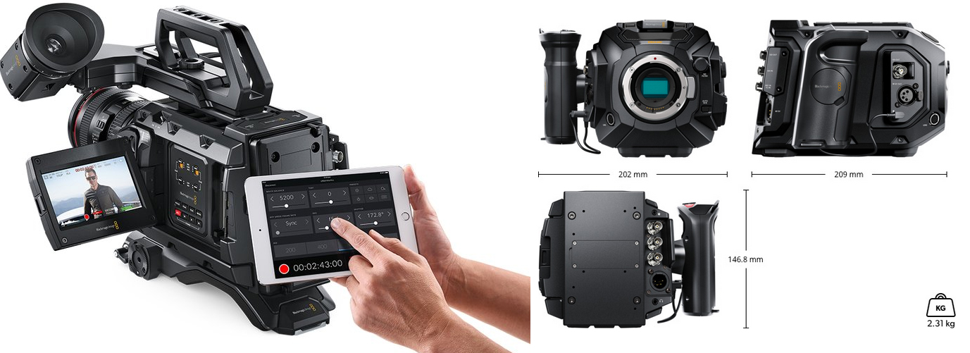 Blackmagic URSA Mini Pro 4 6K G2